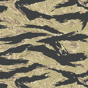 Golden Tiger Stripe Camo