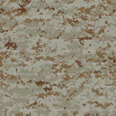 Sixth Scale Marine MARPAT Digital Desert Camo