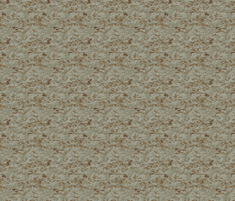 Sixth Scale Marine MARPAT Digital Desert Camo fabric by ricraynor on Spoonflower - custom fabric