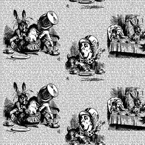 Vintage Alice Toile Half Size