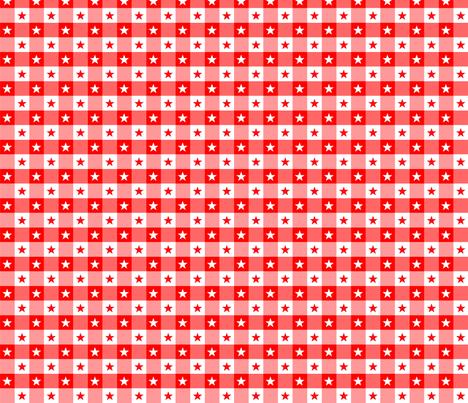Etoiles Vichy rouge