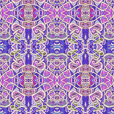 Every Which Way and Lavender fabric by edsel2084 on Spoonflower - custom fabric