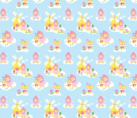 CloudTown fabric by smilerecipe on Spoonflower - custom fabric