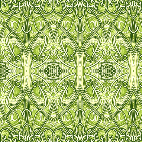 Where the Leprechauns Play fabric by edsel2084 on Spoonflower - custom fabric