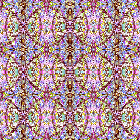 The Jeannie's Bottle fabric by edsel2084 on Spoonflower - custom fabric