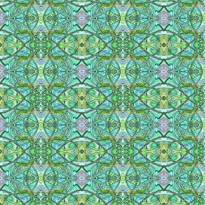How Green Was My Planet? (textures via art nouveau)