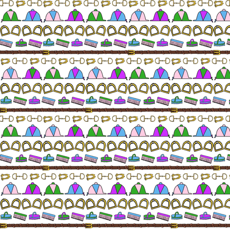 Tiny Tack fabric by ragan on Spoonflower - custom fabric