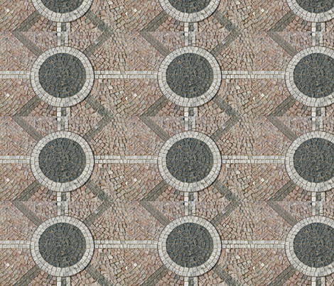 stone tile mosaic fabric by crafts51432 on Spoonflower - custom fabric