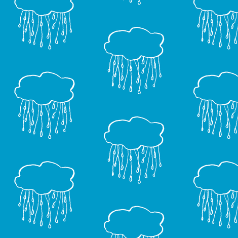 rain cloud sea fabric by gollybard on Spoonflower - custom fabric