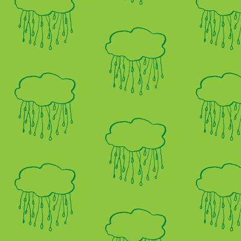 rain cloud grass fabric by gollybard on Spoonflower - custom fabric