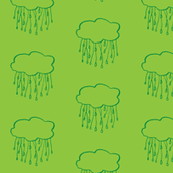 rain cloud grass