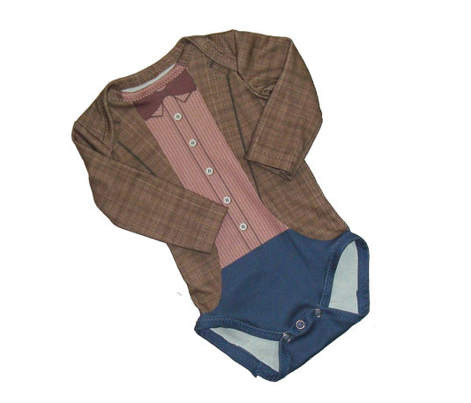 11th Doctor Baby Onesie Newborn size
