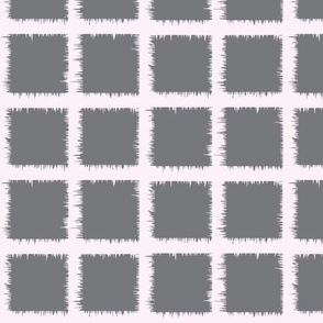 grey square ikat