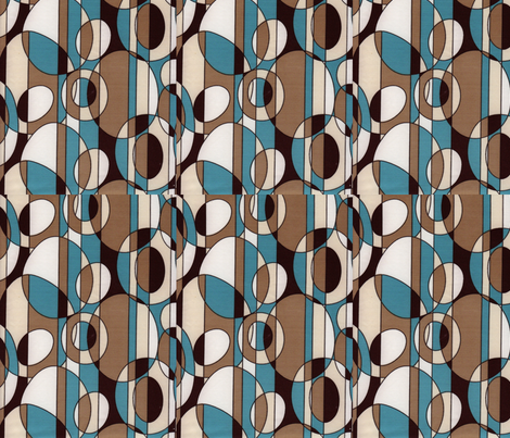 blue wonder fabric by crafts51432 on Spoonflower - custom fabric