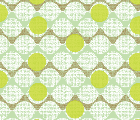 snaking around fabric by ottomanbrim on Spoonflower - custom fabric