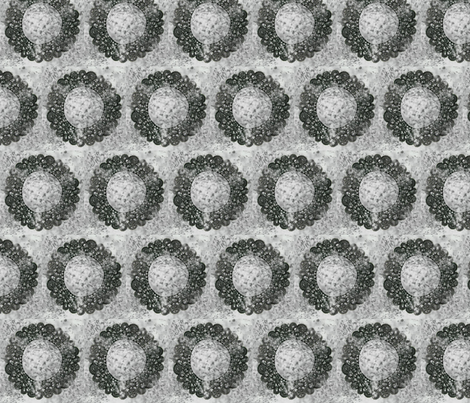 grey_doily fabric by laurl on Spoonflower - custom fabric