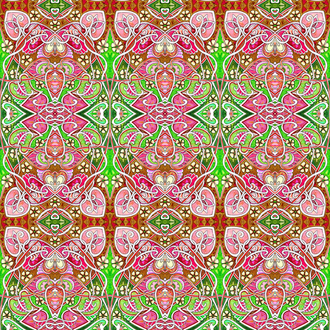 Art Nouveau Hallucinations fabric by edsel2084 on Spoonflower - custom fabric
