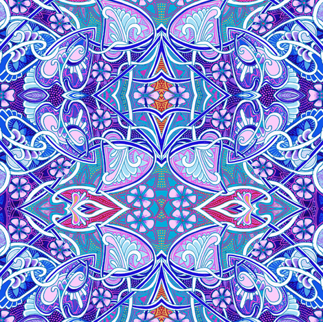 Totally Nouveau Spring (second version) fabric by edsel2084 on Spoonflower - custom fabric