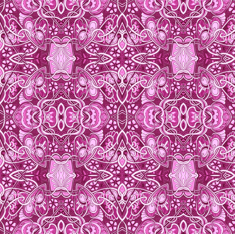 Retro Ruby Waltz fabric by edsel2084 on Spoonflower - custom fabric