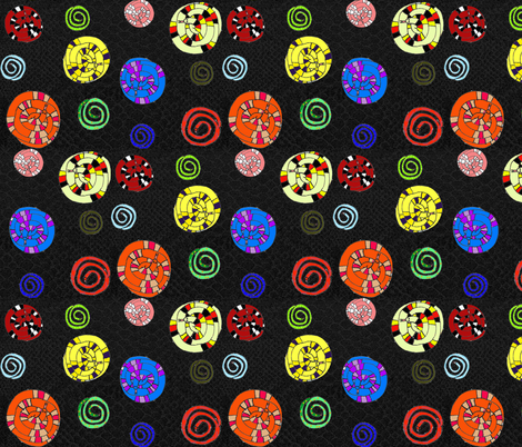 Sssnakes fabric by graceful on Spoonflower - custom fabric