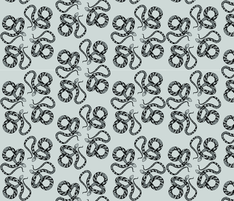 Year of the Snake fabric by julia_canright on Spoonflower - custom fabric