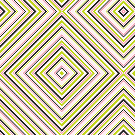 Diamond Wallpaper- Gossiping Girl  fabric by mag-o on Spoonflower - custom fabric