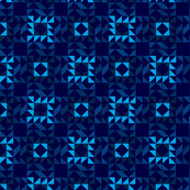 Lets Tessellate Blue