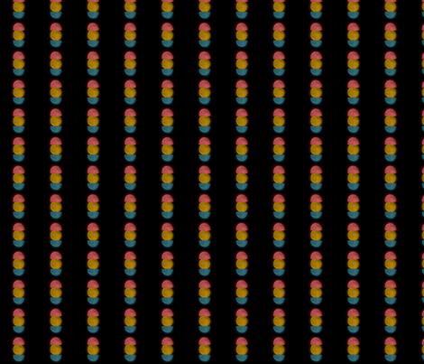 The moon fabric by bamboohoney on Spoonflower - custom fabric