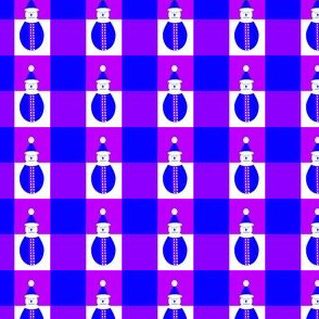 Bonhomme violet