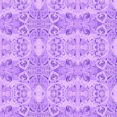M'lady Loves Lavender fabric by edsel2084 on Spoonflower - custom fabric