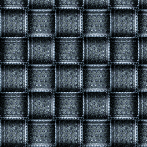 SteamWeave - Steel fabric by bonnie_phantasm on Spoonflower - custom fabric