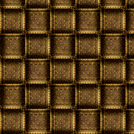 SteamWeave - Brass fabric by bonnie_phantasm on Spoonflower - custom fabric