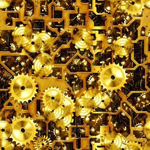 Steam Clockwork - Brass