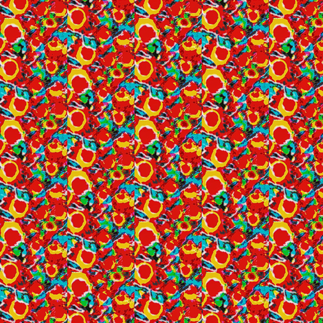 cherry bunch fabric by dk_designs on Spoonflower - custom fabric