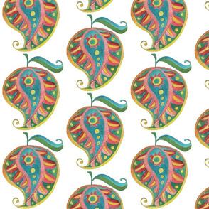 Little paisley motif