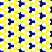 Meidoorn Yellow &amp; Blue Small