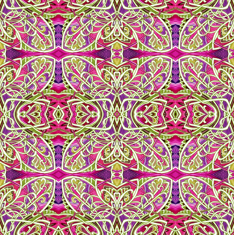 Tangled Squares fabric by edsel2084 on Spoonflower - custom fabric