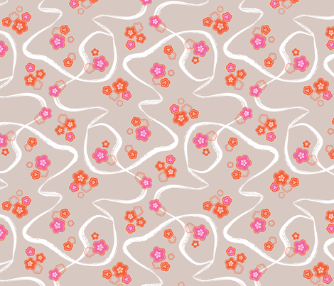 Serpentine Spring fabric by gracemellow on Spoonflower - custom fabric
