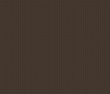 Believe_knit_texture_brown fabric by mindsthatcreate on Spoonflower - custom fabric