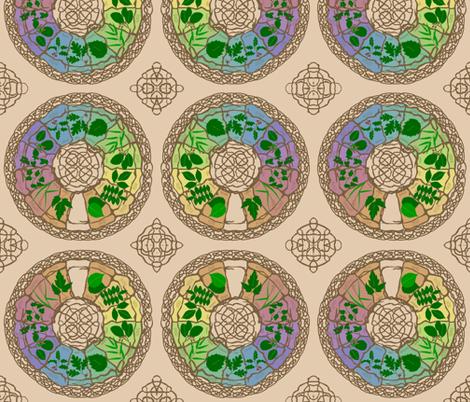 celtic_zodiac fabric by roxiespeople on Spoonflower - custom fabric