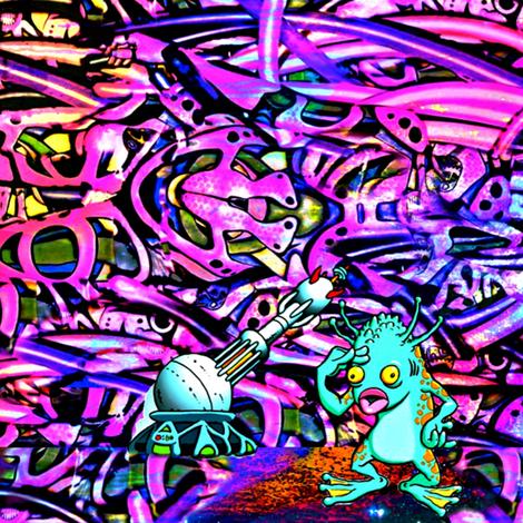 Alien Paint Crew