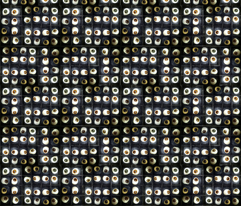 Eyeball Maze fabric by giantpeanut on Spoonflower - custom fabric