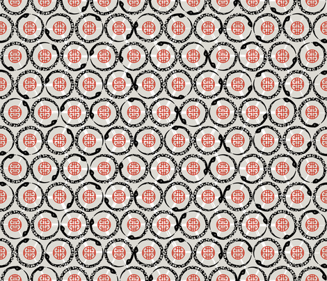 Julie_sSNAKEyear fabric by juliesfabrics on Spoonflower - custom fabric