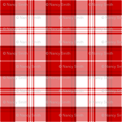 Red Tartan Bold