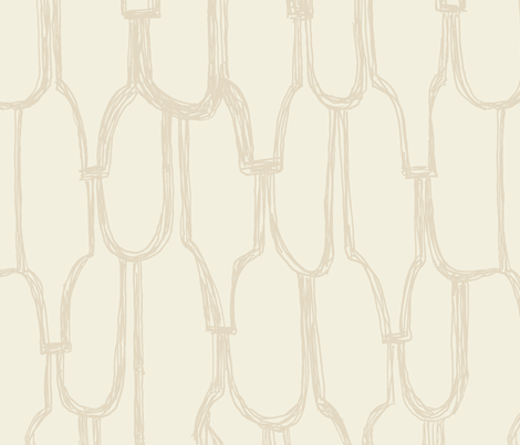 cove in cream fabric by sodabyamy on Spoonflower - custom fabric