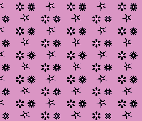 SCOTTY'S PINK TWILIGHT fabric by bluevelvet on Spoonflower - custom fabric