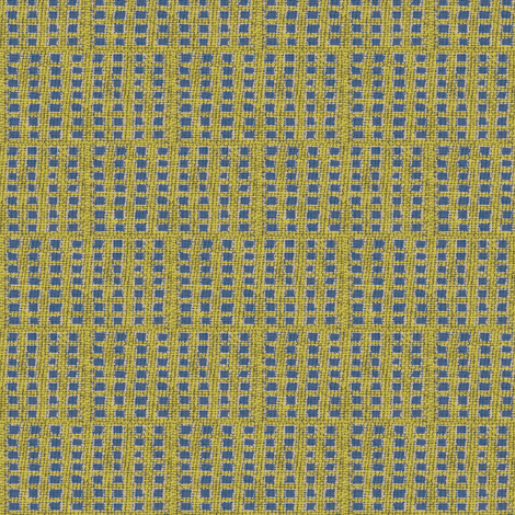 checkmates: yellow/khaki/blue-ch fabric by materialsgirl on Spoonflower - custom fabric