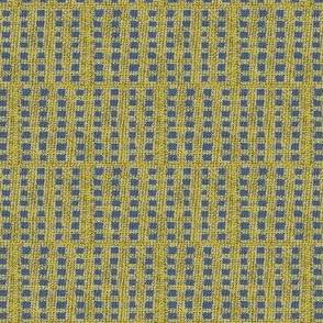 checkmates: yellow/khaki/blue-ch