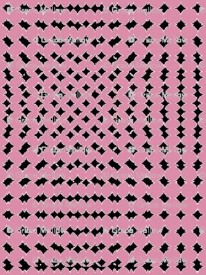 Op Moire - Pink