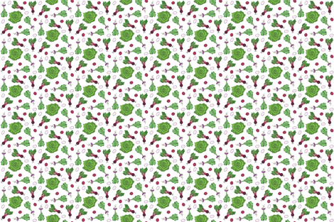 Lettuce Turnip the Beet fabric by rothcommaannie on Spoonflower - custom fabric